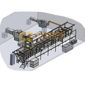 Автоматизированная линия фосфатирования