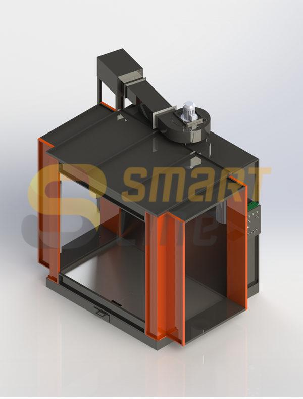 Однопостовая камера напыления