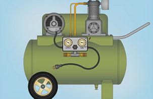 Подготовка и подача сжатого воздуха: что для этого надо
