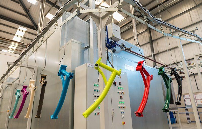Конвейеры для порошковой покраски конвейер для автобетоносмесителя
