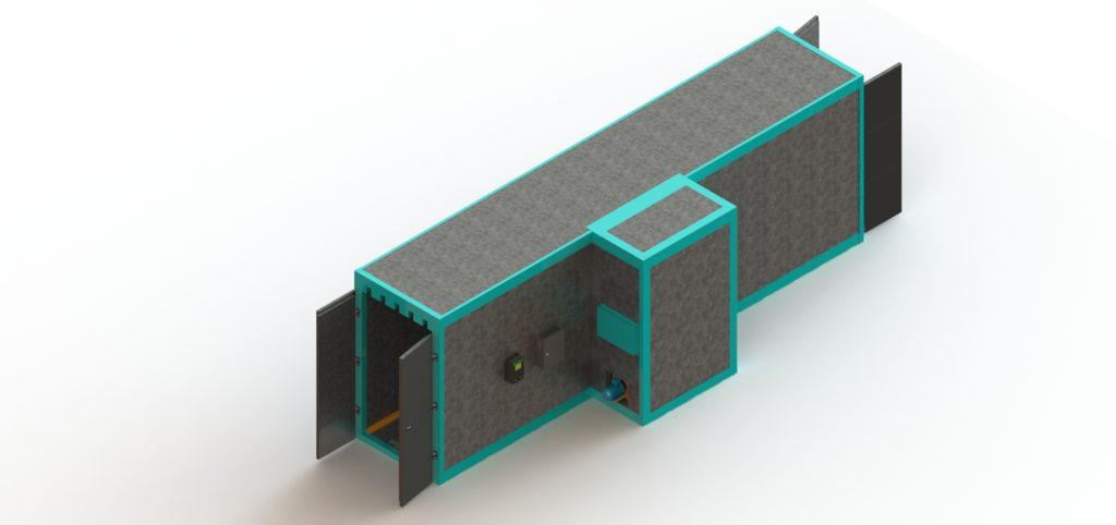 Печь полимеризации с термоблоком