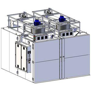 Печь полимеризации: конструкция