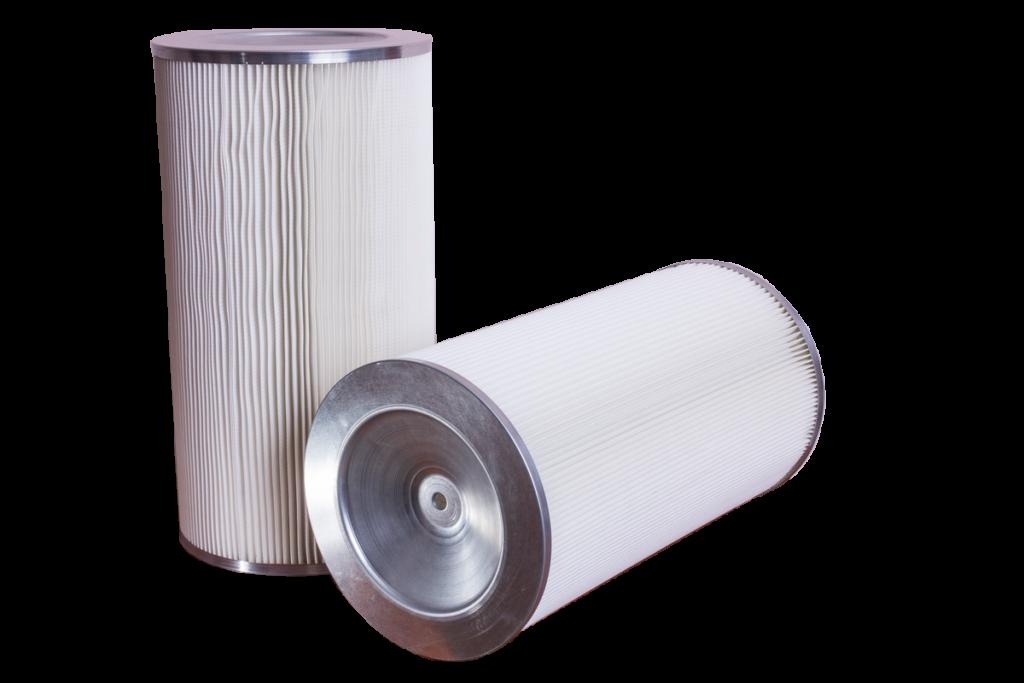 Патронные фильтры для порошковых покрасочных камер