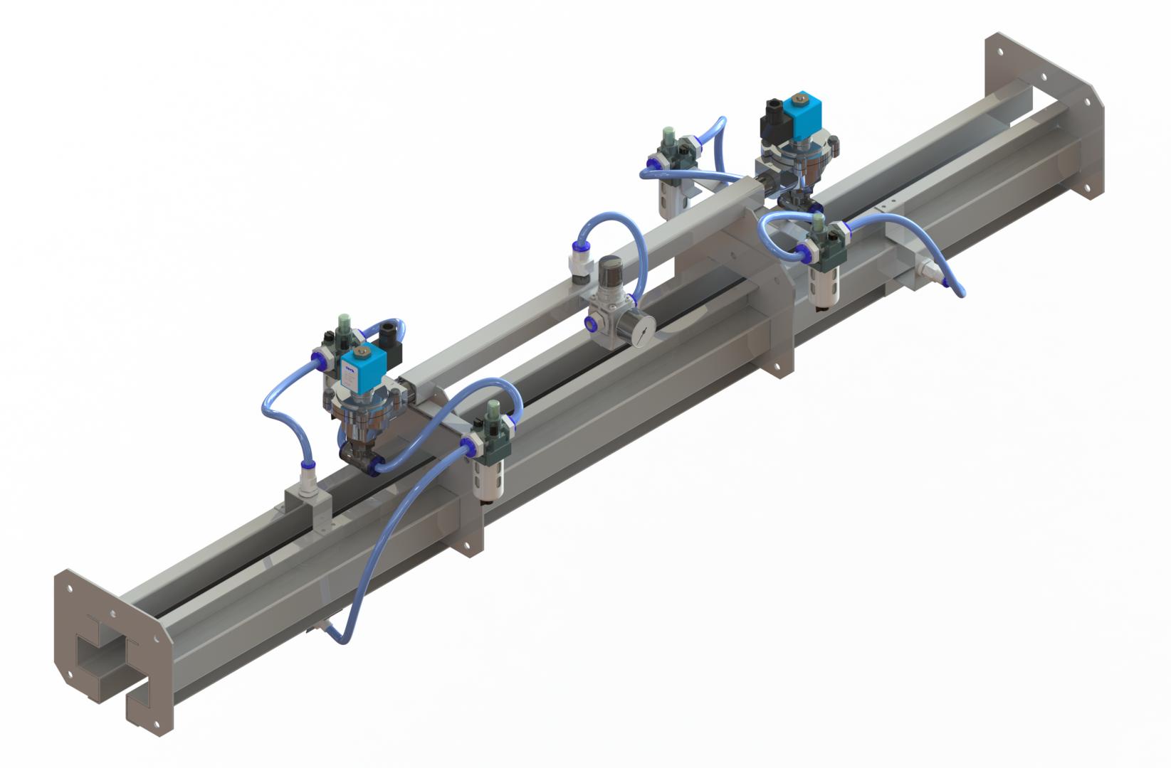 Блок смазки конвейера