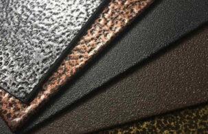 Разновидности фактур порошковой краски и особенности их нанесения