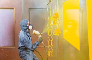 Безопасность и методы управления окрасочным оборудованием