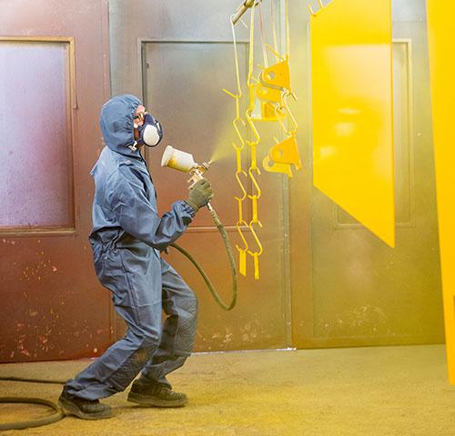 Безопасность при нанесении порошковой краски