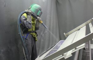 Дробеструйная обработка перед порошковой покраской: важные советы