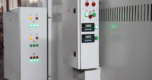 пульт управления печи полимеризации