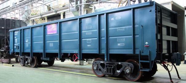 Порошковое окрашивание грузовых вагонов