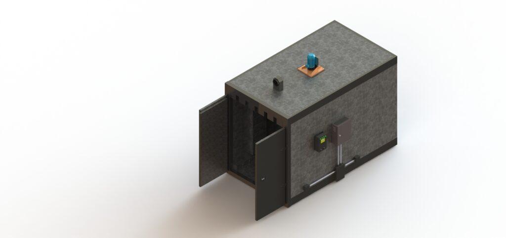 Печь полимериации на кварцевых лампах