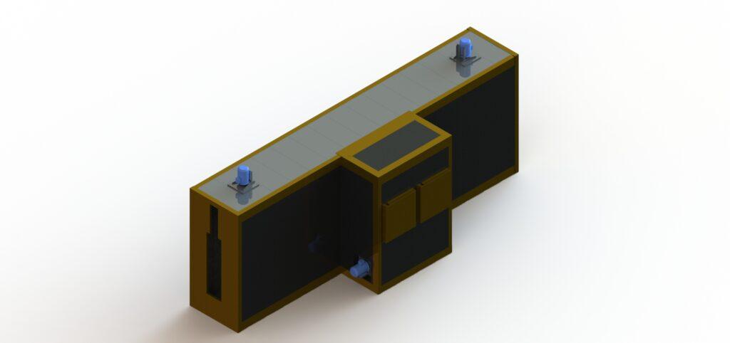 Камера сушки после подготовки поверхности