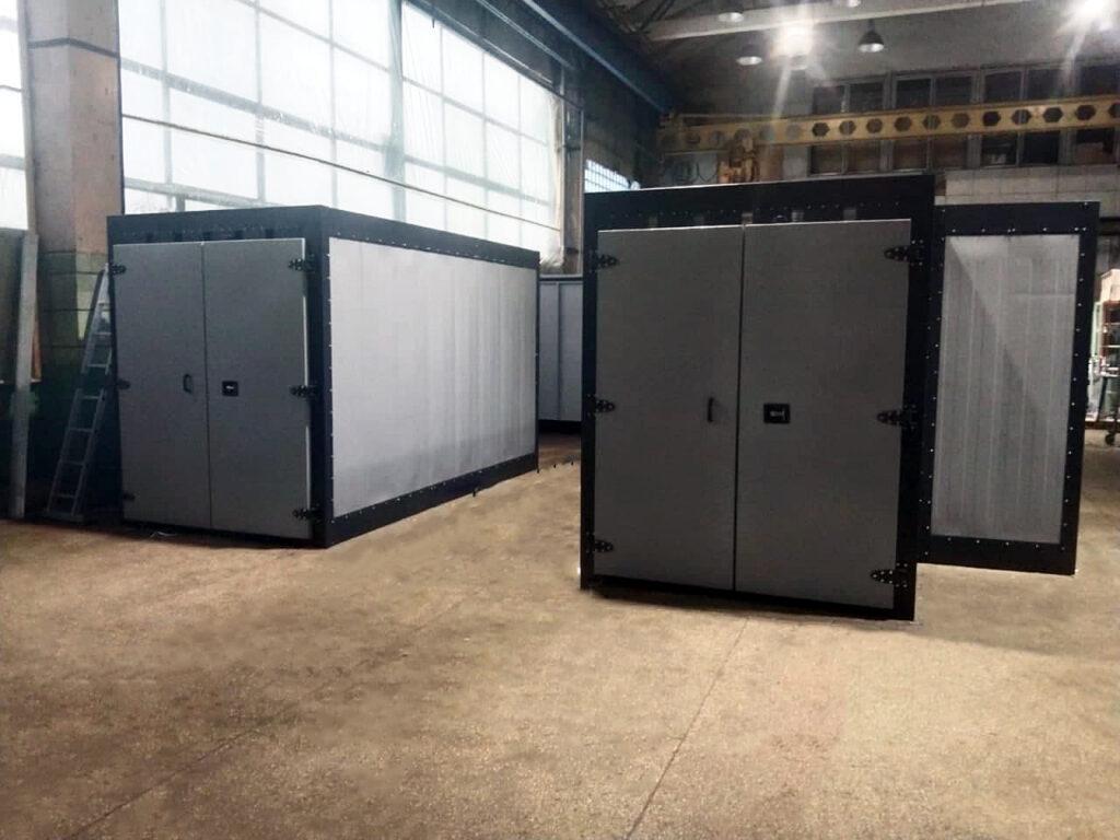 Печь полимеризации на термоблоках