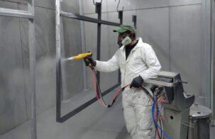 Ручной участок порошковой покраски: какое оборудование выбрать и как спланировать